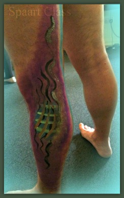 Body Art by Karol Face and Body Paint on Human Skin