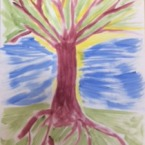 Artwork created by the Wellcome Trust Employees at the July Spaart Class.