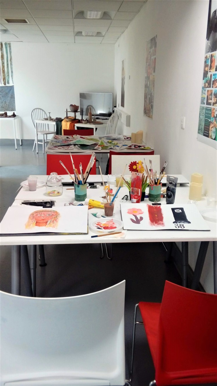Degree Show Spaart Class Area 1